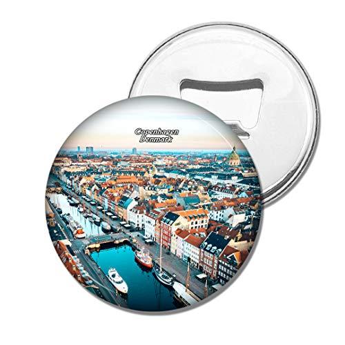 Weekino Dänemark Kopenhagen Bier Flaschenöffner Kühlschrank Magnet Metall Souvenir Reise Gift