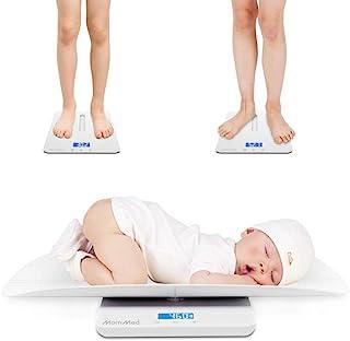 مقیاس کودک ، مقیاس کودک نوعی چند منظوره ، مقیاس کودک دیجیتال ، مقیاس حیوان خانگی ، مقیاس نوزاد با عملکرد نگه داشتن ، نور پس زمینه آبی ، وزن (حداکثر: 220 پوند) و آهنگ قد (حداکثر: 24 اینچ)