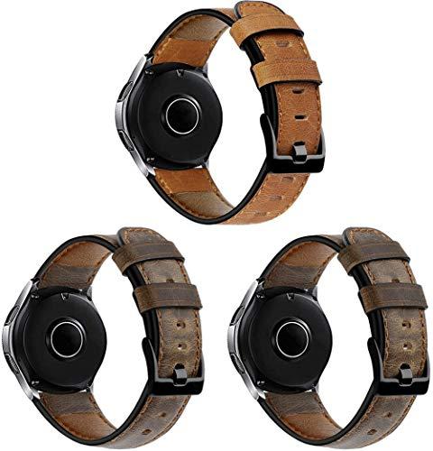 Gransho Correa de Reloj 22mm, Correas Repuesto (diseño de Moda Original) (22mm, 3PCS E)