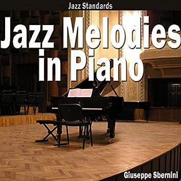 Jazz Melodies in Piano (Jazz Standards)