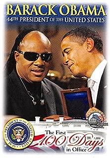 Barack Obama & Stevie Wonder trading card (44th President of the United States) 2009 Merrick Mint #12