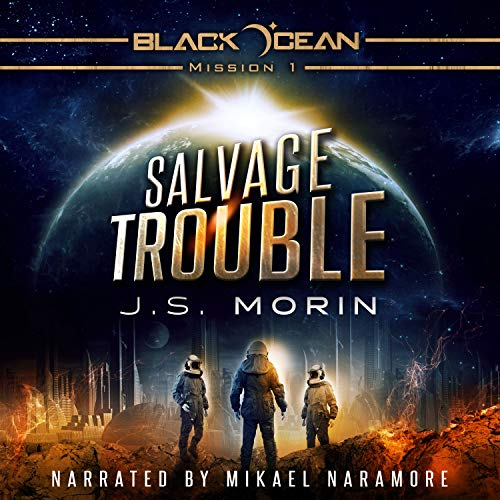 Salvage Trouble audiobook cover art