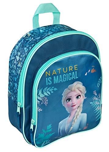 Undercover mit Vortasche, Disney Frozen II, für Schule und Freizeit, ca. 31 x 25 x 10 cm Fruw7601 Blau