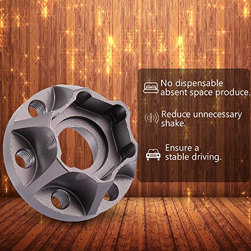 Goolsky Wheel Hex Hub Adapter für 1,9 / 2,2 Zoll Felge 1/10 Axial SCX10 Traxxas TRX4 D90 RC Crawler 4St