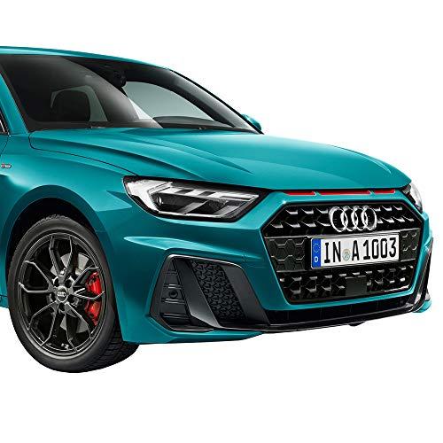 Audi 82A064317BZ3M Dekorfolie Luftausströmer misanorot glänzend Folie Design Tuning, nur für S-Line Exterieur