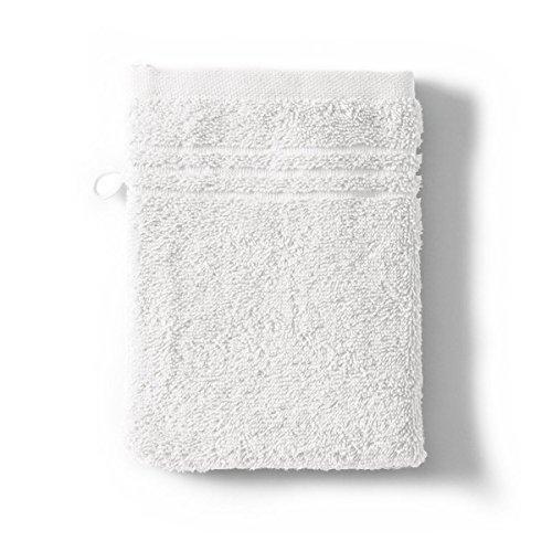 Tradition des Vosges Gant de Toilette Uni 550g 16 x 21 cm Blanc Neige