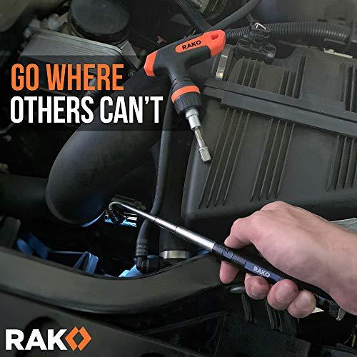 Product Image 7: RAK Magnetic Pickup Tool with LED Lights – Telescoping Magnet Pick Up Gadget Tool for Men, DIY Handyman, Father/Dad, Husband, Boyfriend, Him, Women