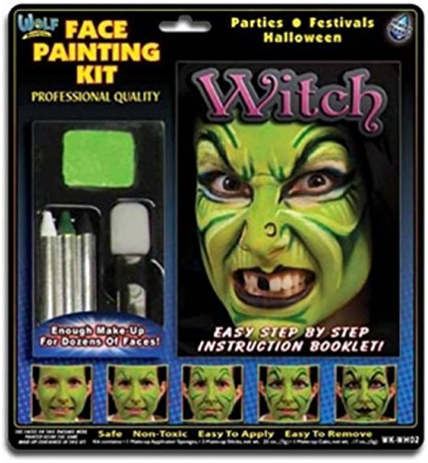 Wolfe FX Kits  Witch (4 colors) by Wolfe Face Art & Fx