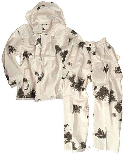 Mil-Tec BW Combinaison de camouflage en coton 2 pièces Taille S