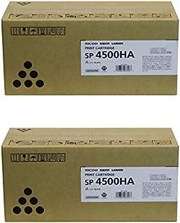 Ricoh 407316 High Yield Print Cartridge 2-Pack for SP 4510DN, SP 4510SF