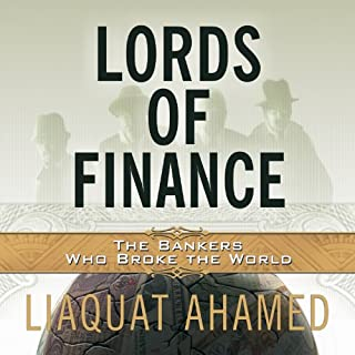 Lords of Finance audiobook cover art
