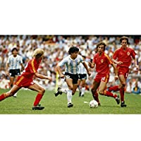 ディエゴ・アルマンド・マラドーナ 木製パズルおもちゃギフト アルゼンチンワールドカップ サッカーサッカーの伝説 神の手 ゲームの瞬間,120 Pieces