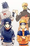 Naruto und Sasuke Faust Bump Poster Dekoration Gemälde