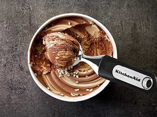KitchenAid Classic Ice Cream Scoop, One Size, Black
