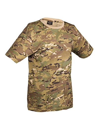 Mil-Tec US Army T-Shirt Camouflage léger (Multicolor/3XL)