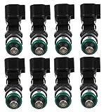 Set of 8 Bosch Port Fuel Injectors for Ford Expedition Lincoln Navigator 5.4L V8