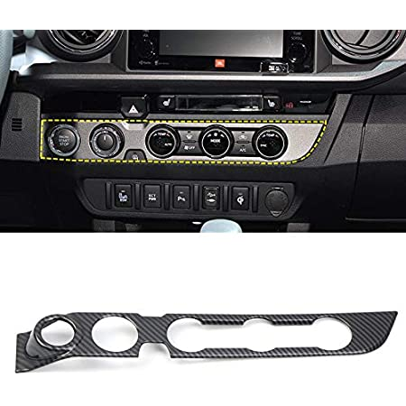 For Toyota Sienna 2011-2018 Rear Seat Air Condition Switch Button Cover Trim