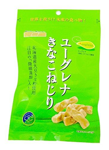 札幌第一製菓 ユーグレナきなこねじり 70g×8