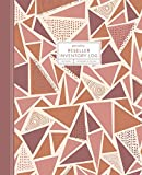 Reseller Inventory Log: Product Listing Notebook For Online Clothing Resellers on Poshmark, eBay, Mercari & More, Abstract Geometric (Pink), 7.5' x 9.25'