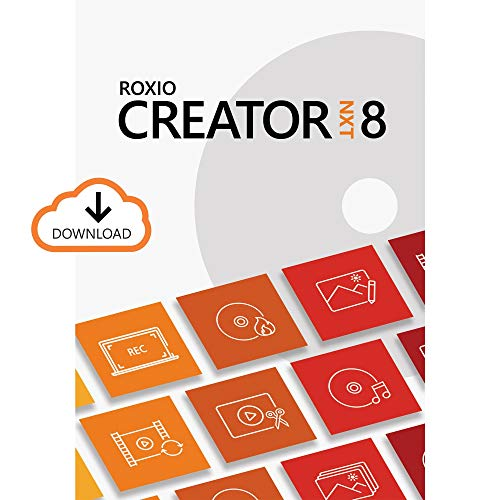 Roxio Creator NXT 8   CD/DVD Burning and Creativity Suite [PC Download]