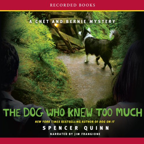 The Dog Who Knew Too Much audiobook cover art