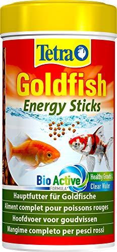Tetra Goldfish Energy Sticks, Futtersticks für alle Goldfische und andere Kaltwasserfische, 250 ml Dose