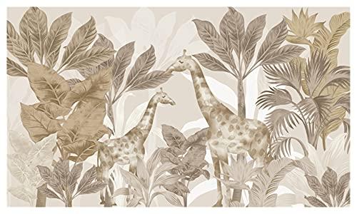 ODSHY Beibehang Asian Asian Animaux Fonds d'écran Chambre à Coucher Chambre Fonds d'écran pour Salon LA TÉLÉ Contexte Papier Mural Décoration de la Maison (Couleur : 24011779)