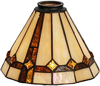 Meyda Tiffany 138904 Belvidere Lamp Shade, 8