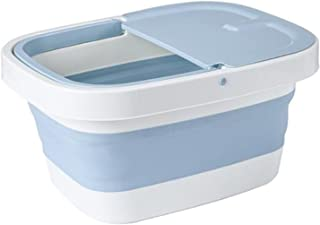 حمام رمادي منقط مع بكرات، تدليك مزود بكيس مائي مائي مزود بفلتر مائي مائي مائي