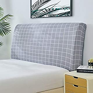 NHK-MX Funda Protectora de cabecera de Cama Spandex,decoración de Dormitorio Cubierta de la cabecera elástica Funda 120-200cm (Color : 5, Size : W180*h65cm)