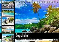 Seychellen - Inselparadies vor der Ostkueste Afrikas (Tischkalender 2022 DIN A5 quer): Traumziel im indischen Ozean (Monatskalender, 14 Seiten )