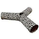 tailmate mit 3geräumigen Tunnels Cat Tunnel Special entworfen klappbar Langlebig und einfach zu verwenden Spielzeug für Katzen.