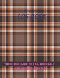 Diabetes Log Book, Tartan scotland seamless plaid pattern retro fabric vintage check color square geometric texture cover, 100 pages - Large(8.5 x 11 inches)