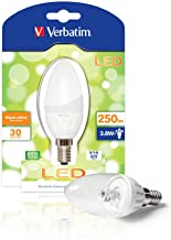 Verbatim 52136 LED Candle Frosted E14 3.8W Light Bulb