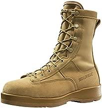 B Belleville Arm Your Feet Men's 330 DES ST Hot Weather Steel Toe Flight Boot, Tan - 10.5 W
