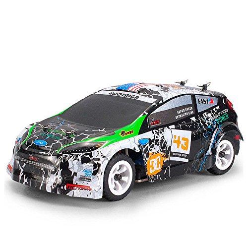 Amyove Wltoys K989 1/28 2.4G 4WD Brushed RC Fernbedienung Rally Car RTR mit Sender