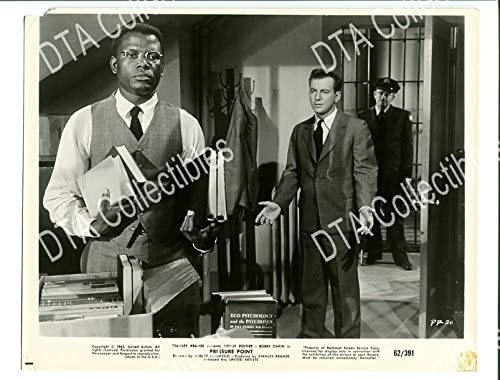 MOVIE PHOTO: PRESSURE POINT-1962-8X10 POITIER STILL-SIDNEY PROMO Courier shipping El Paso Mall free