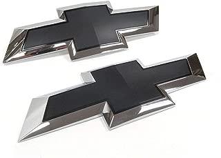 2014-2015 Chevrolet Silverado 1500 2015-2018 HD's Black Bowtie Emblems 23463799