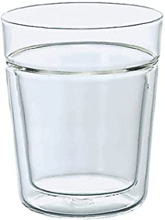 Hario 260 ml Rock Glass Insulated Double Walled Drinking Glass