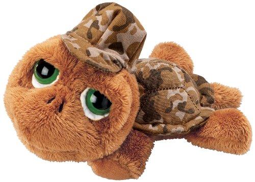 Unbekannt Li'l Peepers 86055 - Russ Berrie Shelby Schildkröte mit Tarnanzug, 15 cm, braun