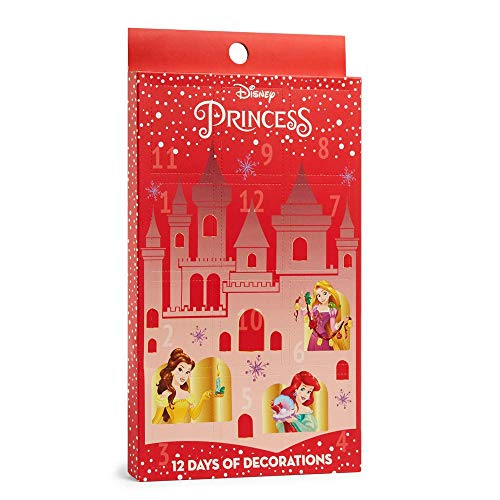 Licensed Disney Princess Weihnachts-Adventskalender zum Aufhängen, 12 Tage Dekoration, Primark