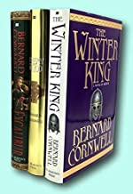Rare Bernard Cornwell / Warlord Chronicles THE WINTER KING ENEMY OF GOD Signed 1st ed