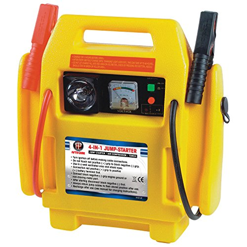PORTABLE POWER STATION / ENGINE JUMP START c/w AIR COMPRESSOR