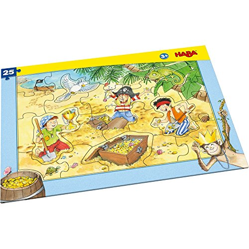 HABA 303707 Rahmenpuzzle Piratengold