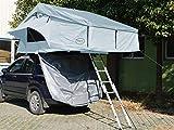 Prime Tech Autodachzelt Extended XXL, grau - 320x180x130cm (ohne Vorzelt)