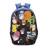 HZLQ Kinderrucksäcke 3D Schultasche Naruto Junior Rucksack Für Kinder Rucksack A-42 * 29 * 16CM