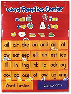 Learning Resources Word Families Center Pocket Chart