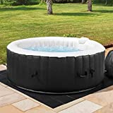 COSYSPA Inflatable Hot Tub – Luxury Outdoor Bubble Spa   2-6 Person...