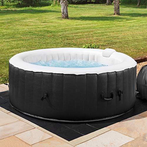 CosySpa Inflatable Hot Tub Spa – Outdoor Bubble Jacuzzi | 2-6 Person Capacity – Quick Heating (Hot Tub Only - 4...