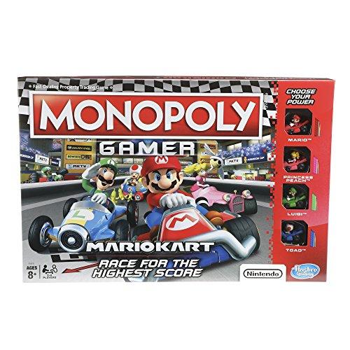 Hasbro Monopoly Gamer Mario Kart Edition Juego De Mesa